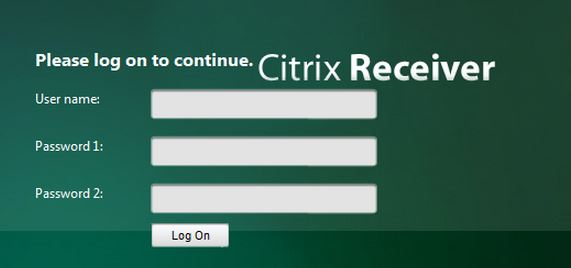 Citrix Netscaler sterke authenticatie